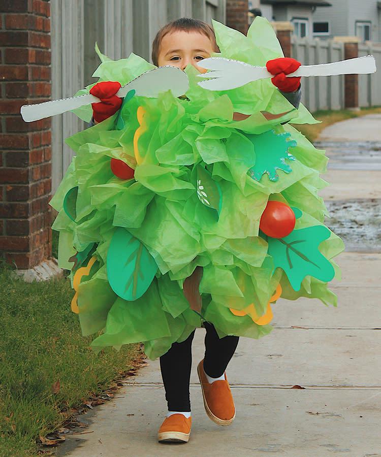 Costume Toddler Salad