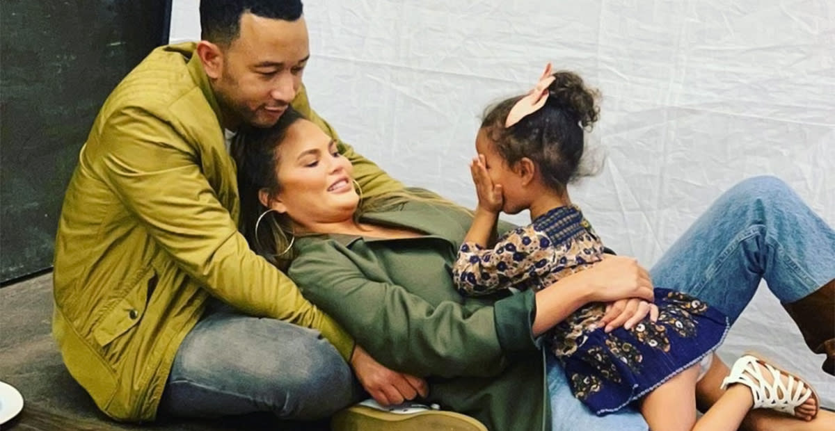 Chrissy Teigen Gets Real About Dealing With Anxiety as a Celebrity Mom