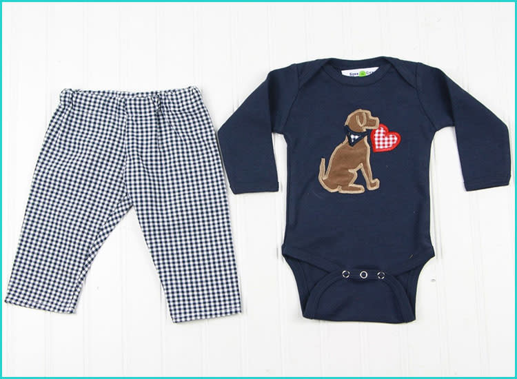 c26a1f4c2 20 Valentine's Day Baby Outfits That'll Melt Your Heart