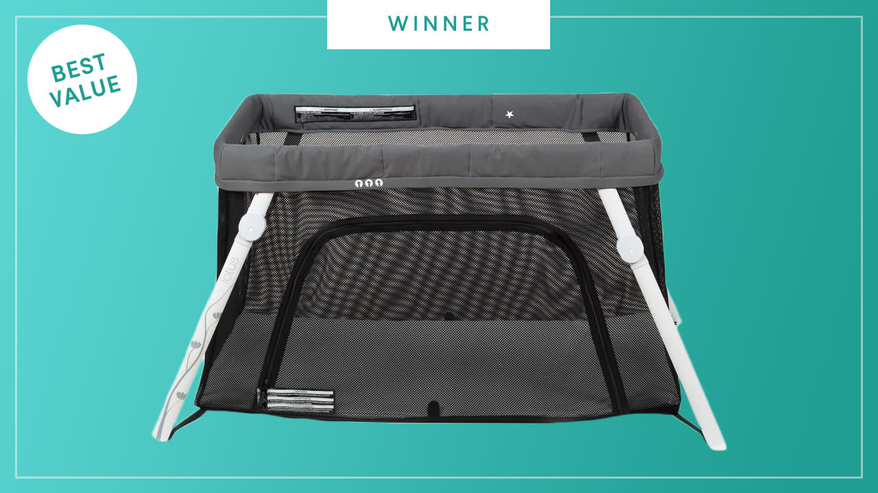 Guava Family Lotus Everywhere Travel Crib wins the 2017 Best of Baby Award from The Bump