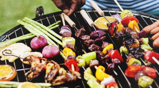 Summer barbecue vegetable kebabs foods to avoid when pregnant