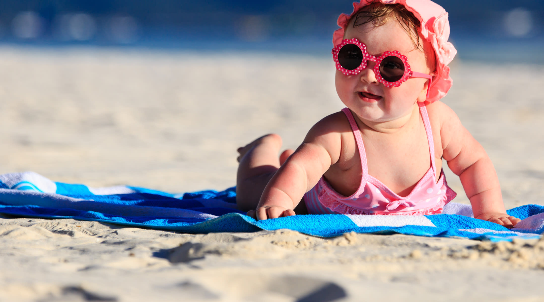 baby laying on the beach heat rash remedies for babies