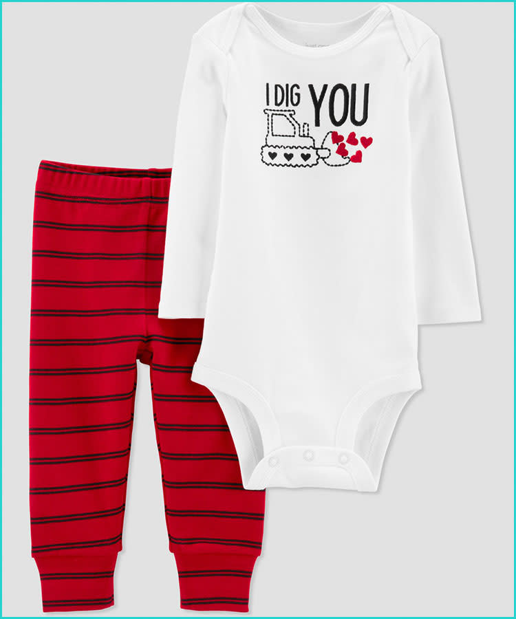 d50befa1d38b9 20 Valentine's Day Baby Outfits That'll Melt Your Heart