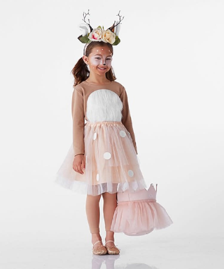 toddler halloween costume woodland deer tutu