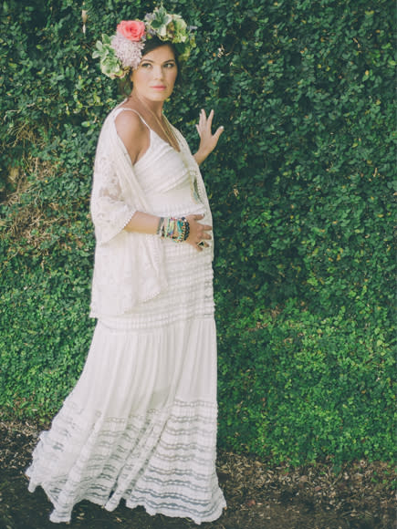 28e7523e2dc00 It was magical and everything I wanted. Here are some tips from my shower  that you could use to create your own boho-themed baby bash! Maternity Look