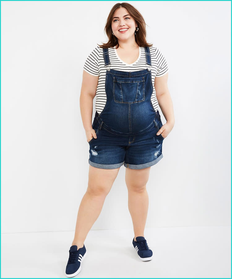 3005af0bf46 21 Maternity Overalls That Are Too Cute to Pass Up
