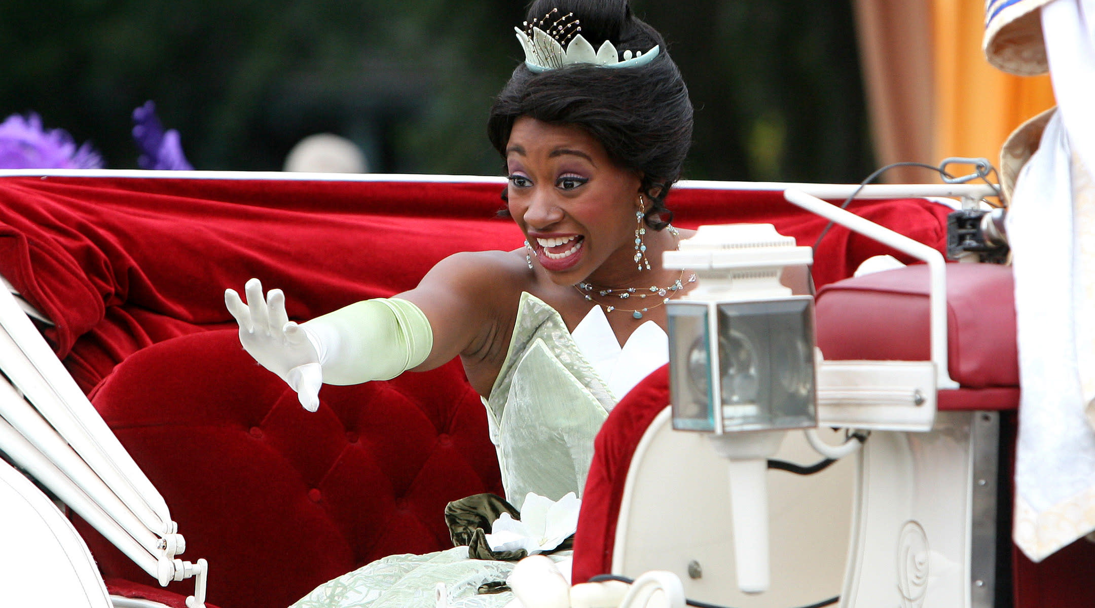 disney princess tiana from princess and the frog