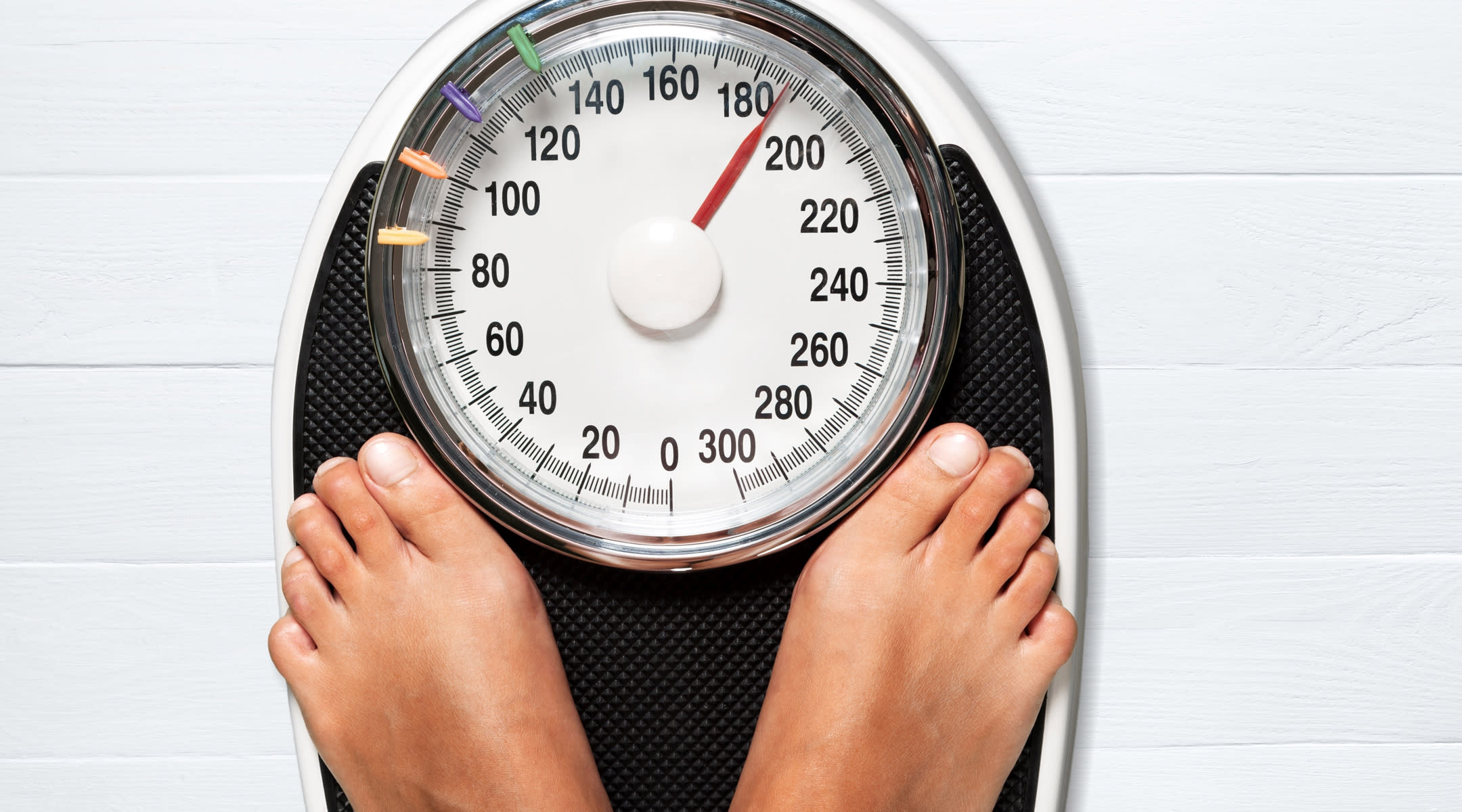 weight loss feet scale