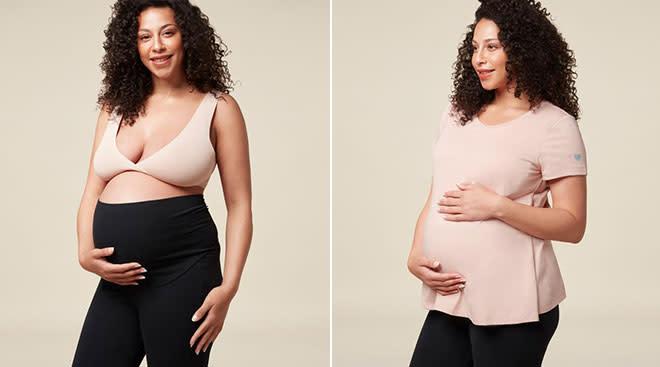 Mori launches new basic maternity clothing line.