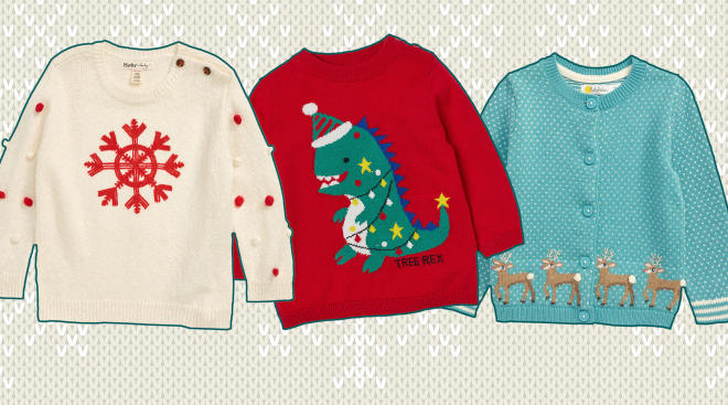 Ugly Holiday Sweater Collage