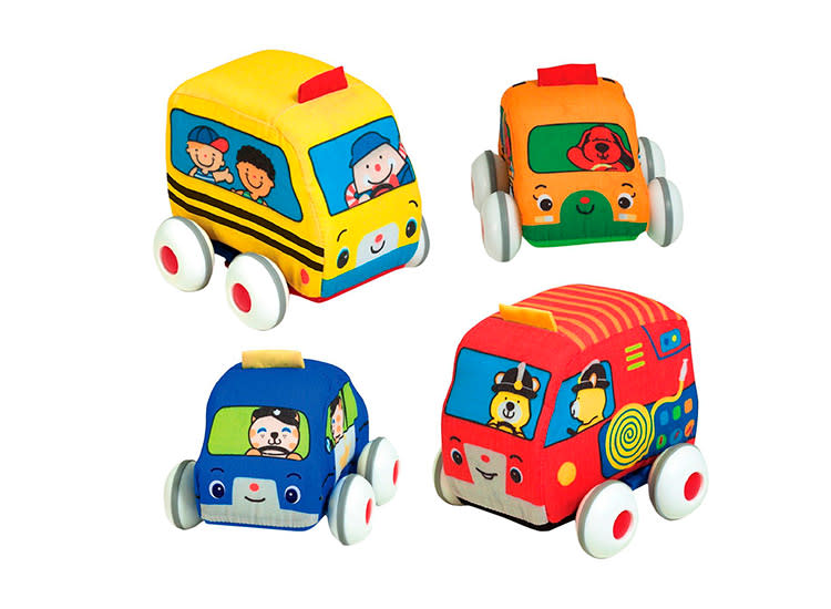 Melissa and Doug Pull-Back Vehicle Set