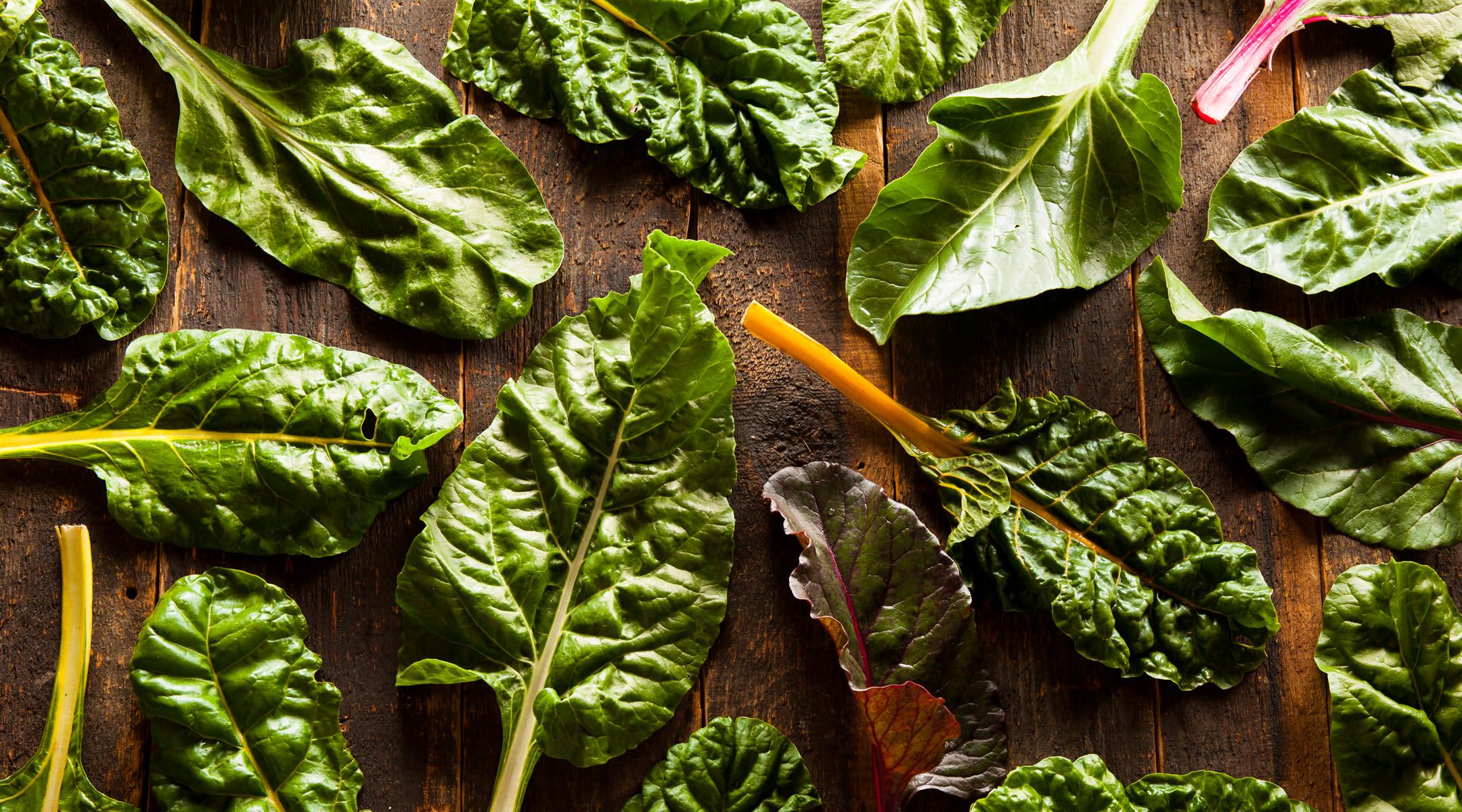 leafy greens fiber swiss chard
