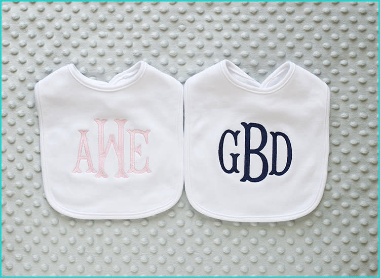 15 Monogrammed Baby Gifts That'll Melt