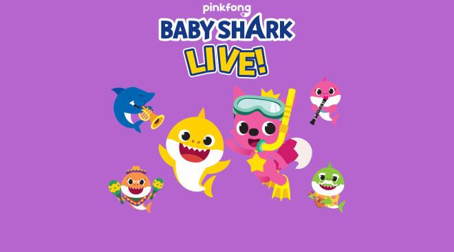 baby shark now has live performances