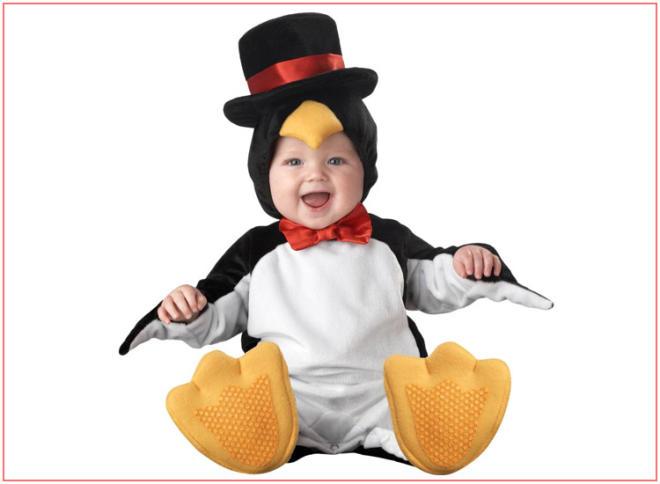 baby halloween costumes cute penguin - Baby Halloween