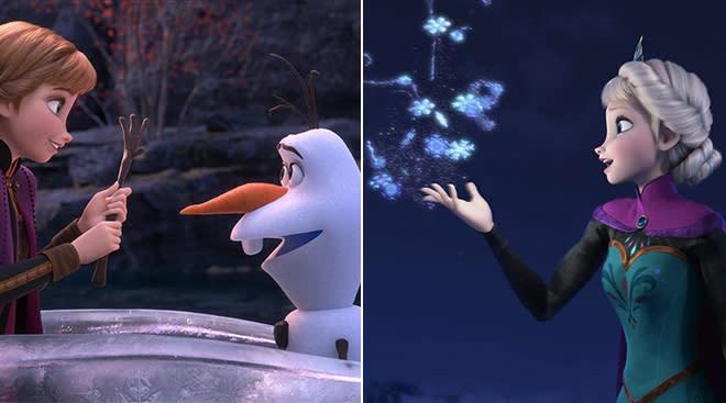 movie stills from frozen 2
