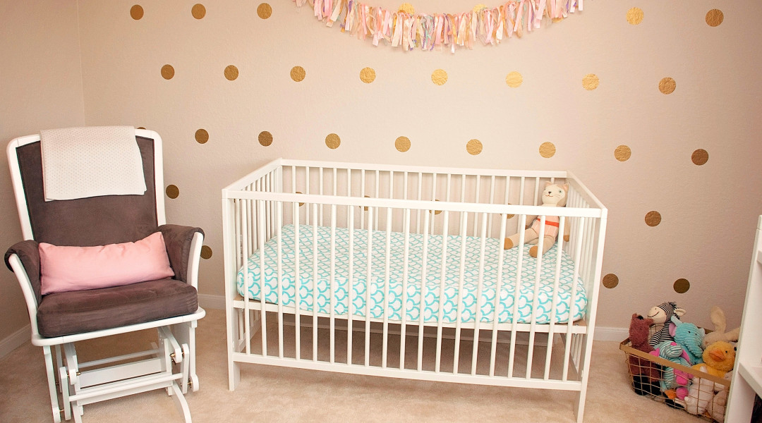 attractive and bright red nursery ideas | Nursery Ideas You'll Want to Steal