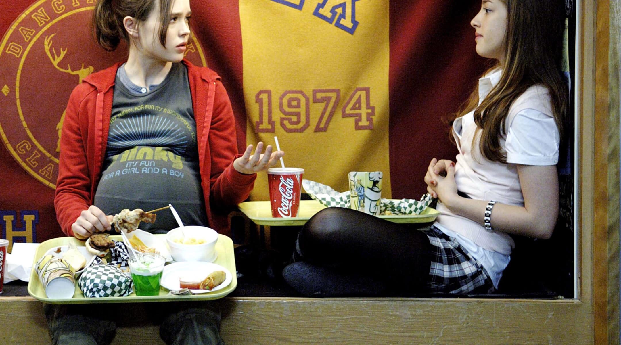 movie scene pregnant juno