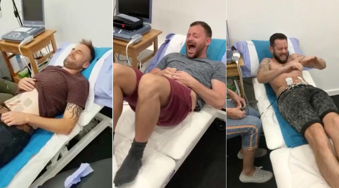 men experience pregnancy labor through device
