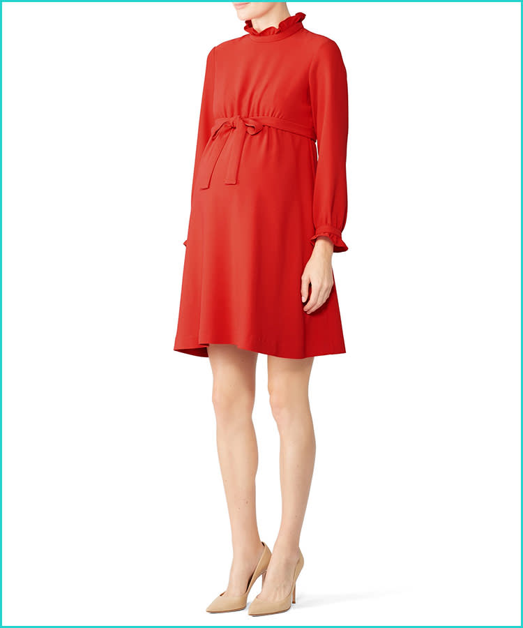 702fac5c5 15 Festive Maternity Holiday Dresses for Under $100