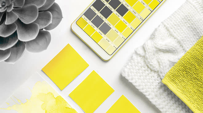 pantone unveils the 2021 colors of the year illuminating yellow and ultimate gray