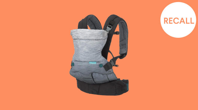 infantino recalls baby carrier