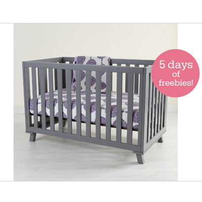 Win It Land Of Nod Low Rise Crib Giveaway