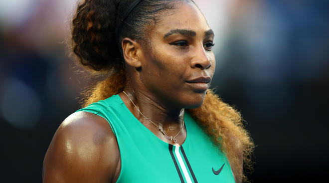 Serena Williams discusses pregnancy stigma in sports in an interview with NowThis News.