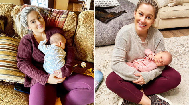 shawn johnson opens up about how motherhood has changed her