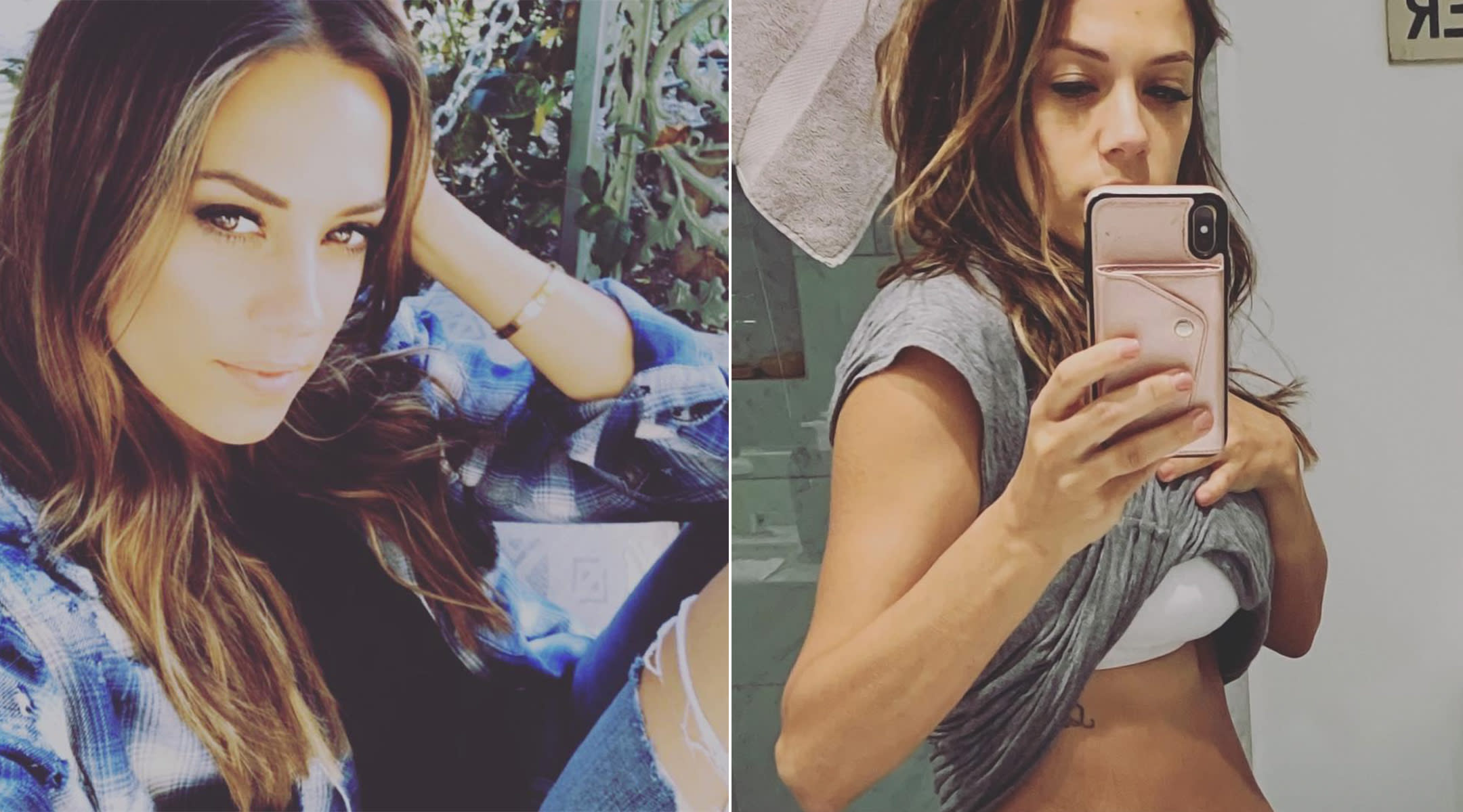 actress jana kramer talks about her postpartum body