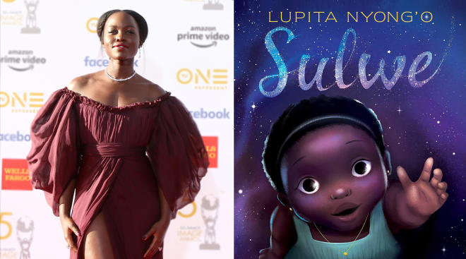 lupita nyong'o publishes a children's book to help girls of color see their beauty