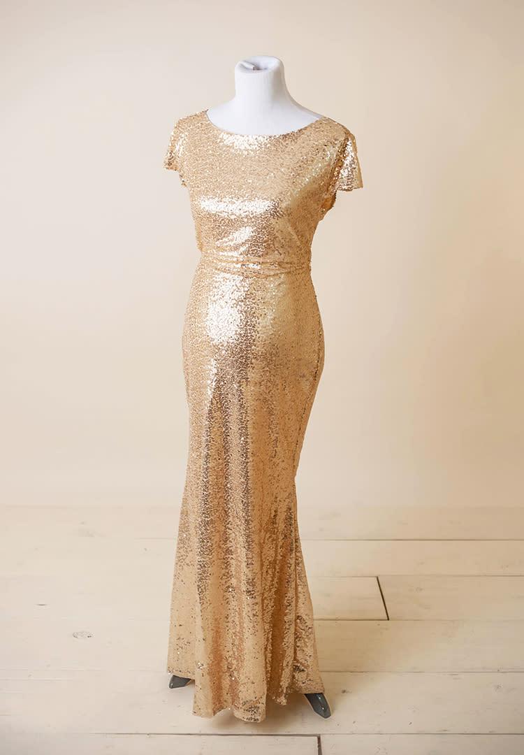 5811a4e403a6 Mama Bump Signature emma sleeve maternity bridesmaid dress