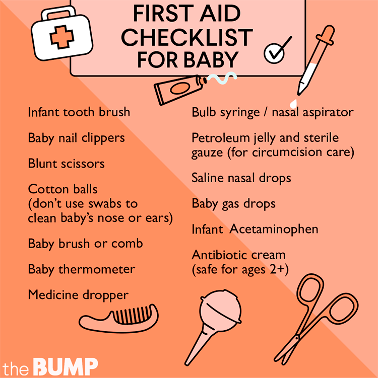 Checklist: Making A First Aid Kit For Baby