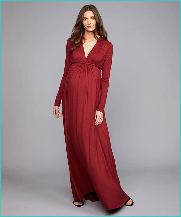 eae13cb78bc rachel-pally-long-sleeve-red-maternity-gown