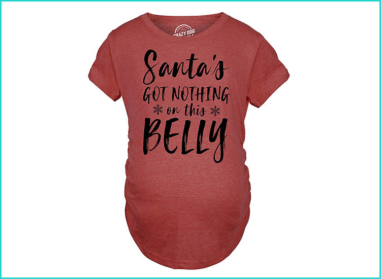 875892344a 24 Funny Maternity Shirts for Lots of Belly Laughs