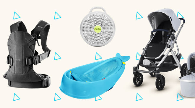 Selection of products from top registry items.