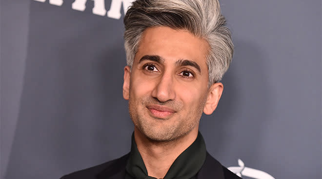 Tan France, celebrity personality from the popular TV shoe]w Queer Eye.