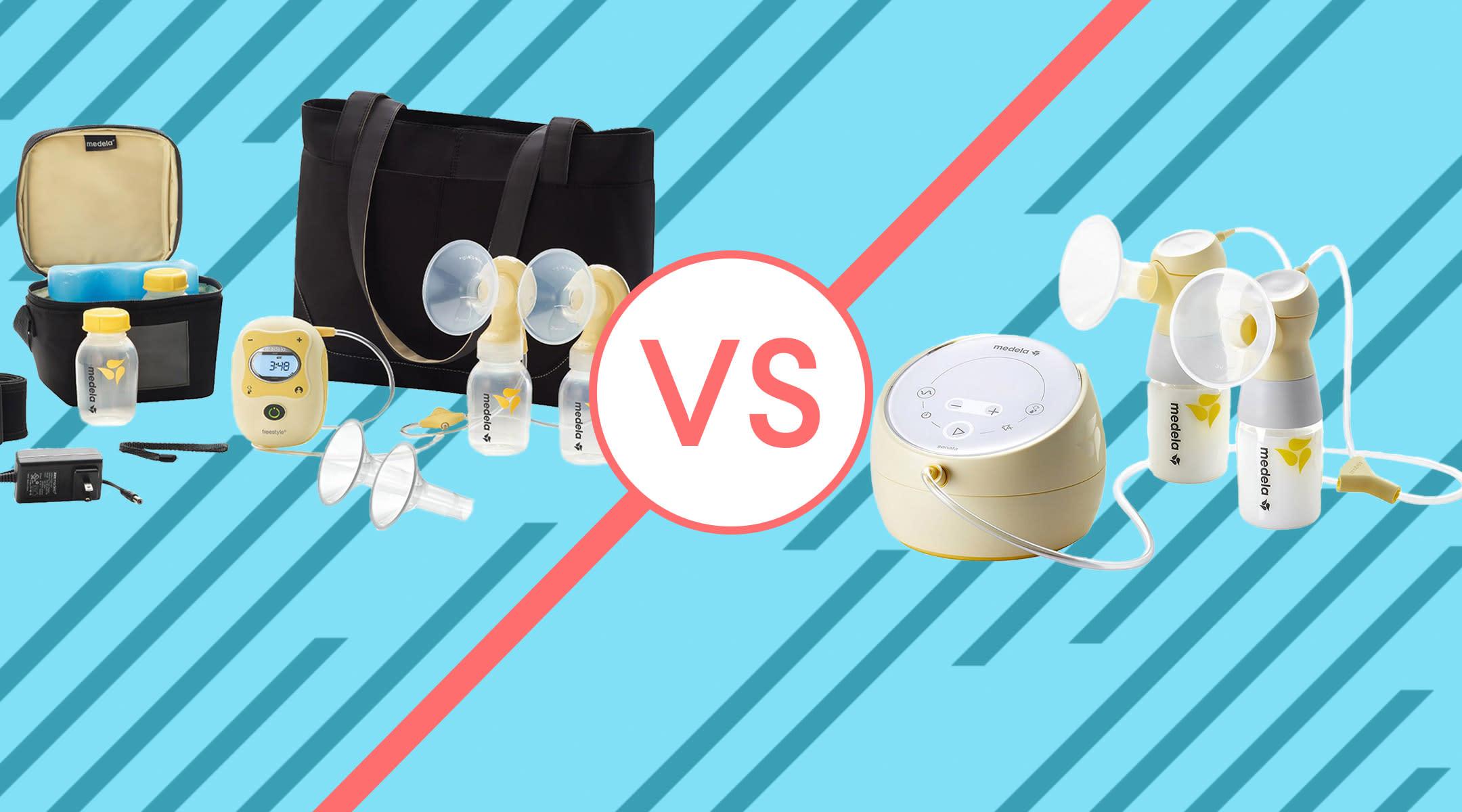 review of medela freestyle breast pump versus medela sonata