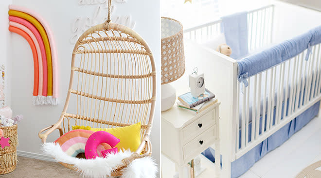 current stylistic trends for nurseries