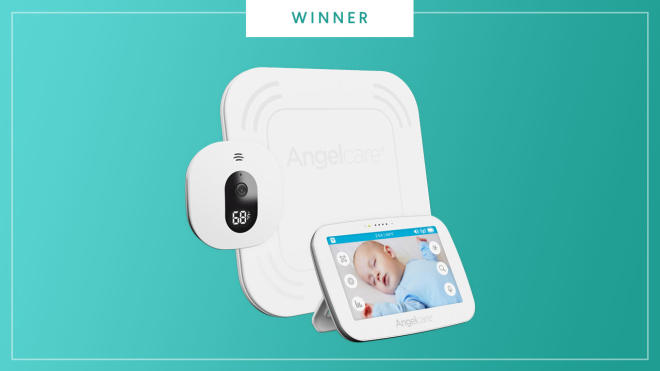 Angelcare monitor wins the The Bump Best of Baby 2017.
