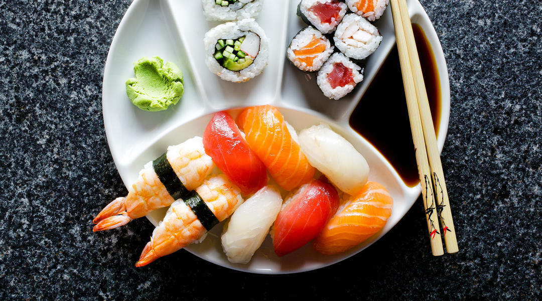 can i eat sushi while pregnant