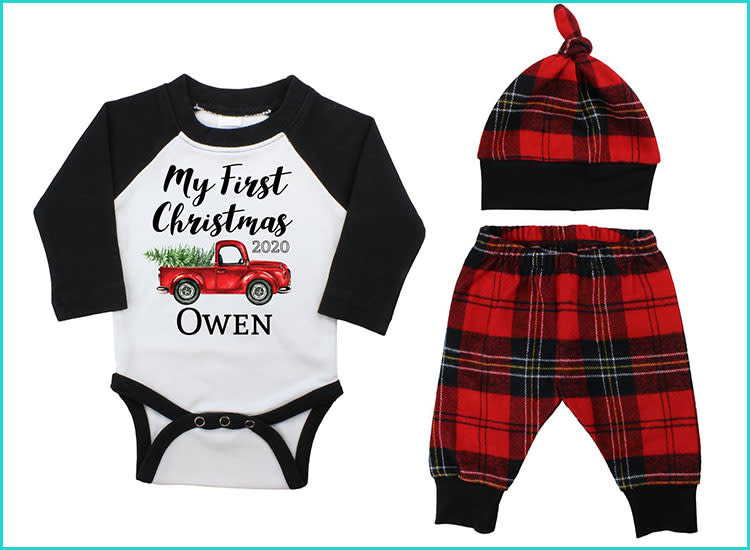 Cutest Baby And Toddler Christmas Outfits