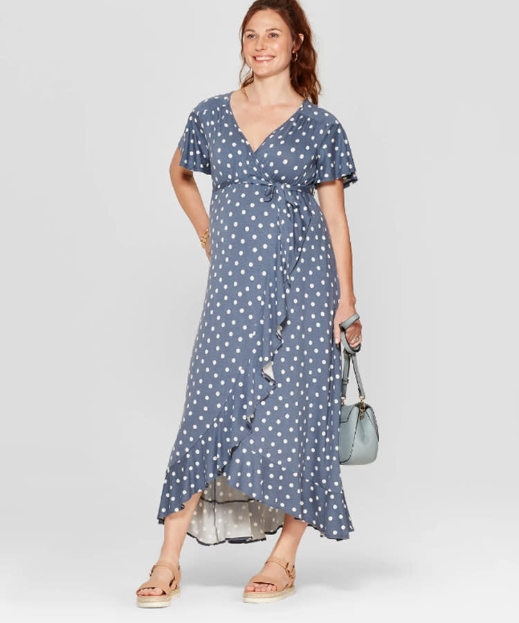 a7781439b4629 67 Cutest Maternity Summer Dresses of the Season