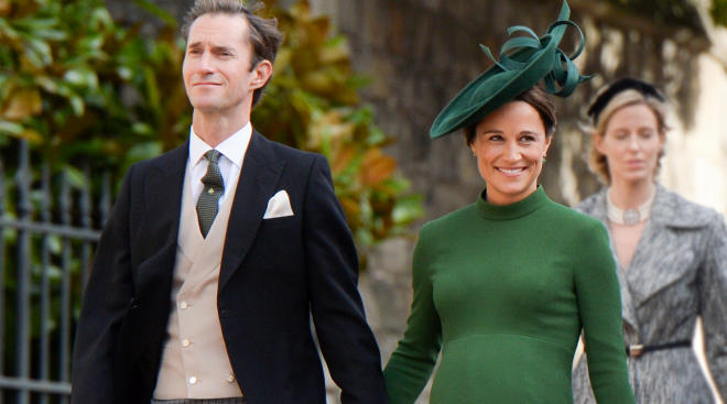 pregnant pippa middleton gives birth