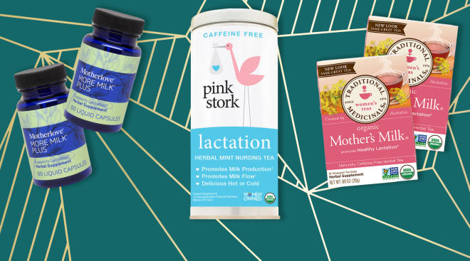 lactation supplements and teas for increased breastmilk