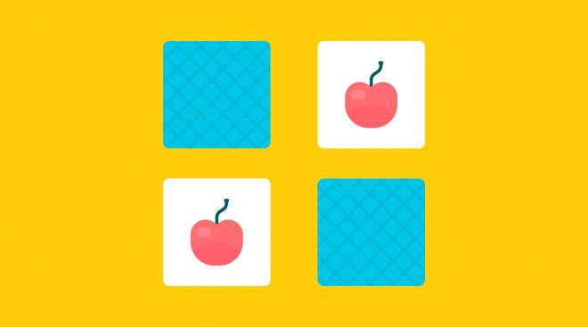 toddler memory card game