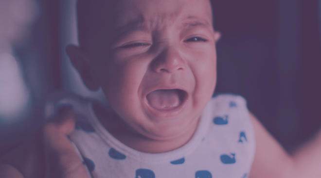 baby crying to du period of purple crying