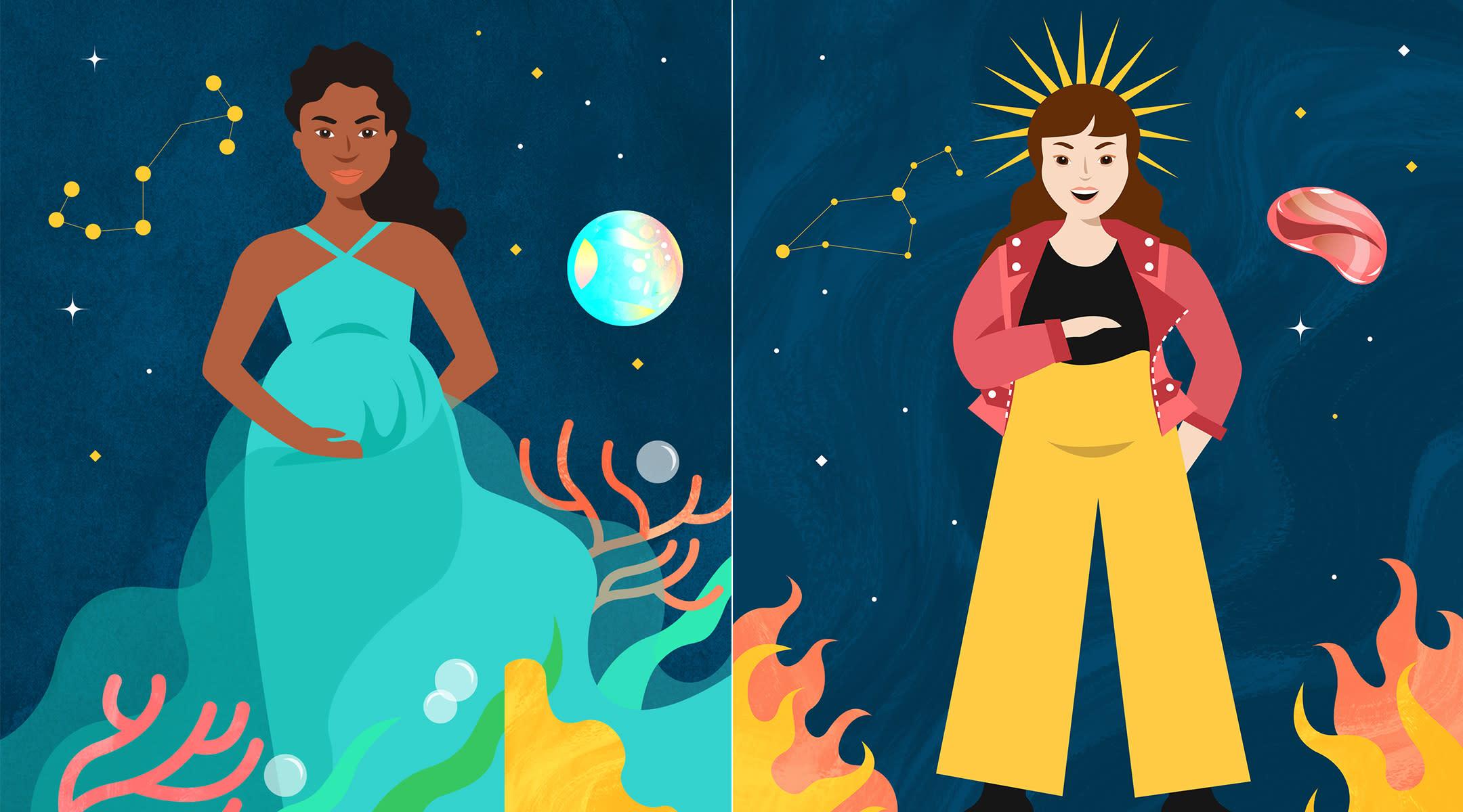 pregnant zodiac women