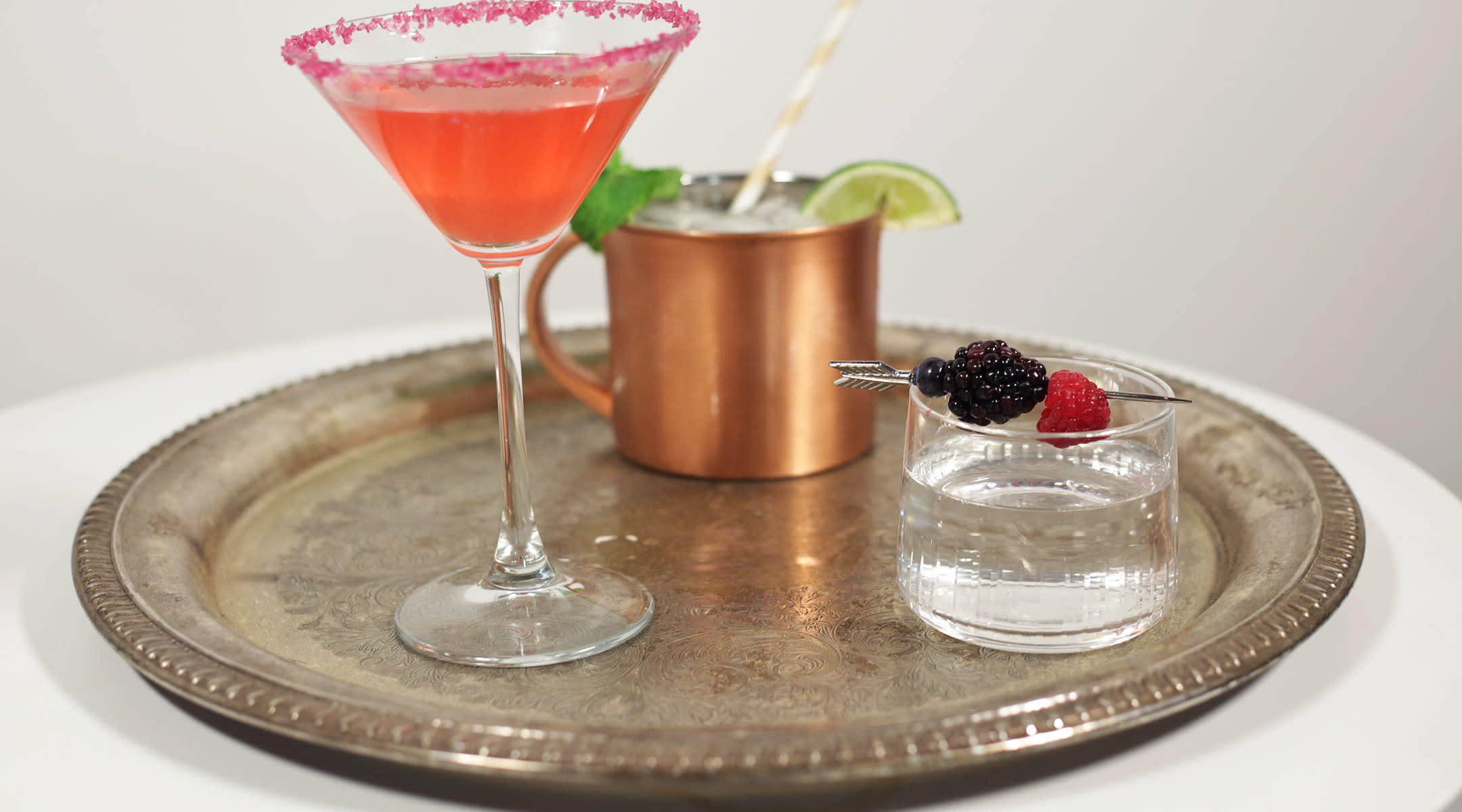 three mocktails for pregnant women