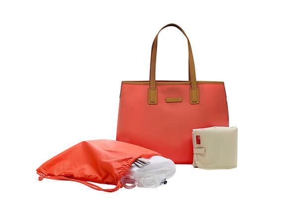 cute designer diaper bags g6v1  5 Storksak Ariel Diaper Bag